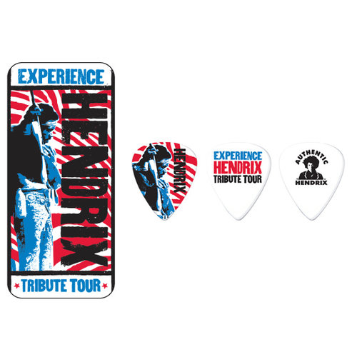 Jim Dunlop Jim Dunlop Jimi Hendrix Tribute Tour Pick Tin