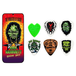 Jim Dunlop Kirk Hammett Monster Pick Tin