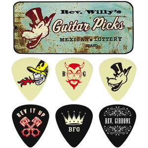 Jim Dunlop Reverend Willy Pick Tin