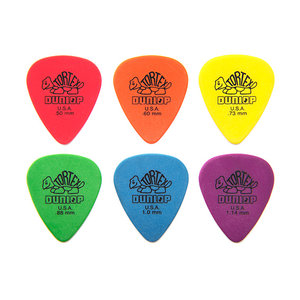 Jim Dunlop Plectrum, Standard Tortex, 12 Pack