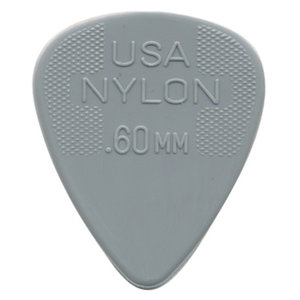 Jim Dunlop Plectrum, Nylon Standard, 12-Pack