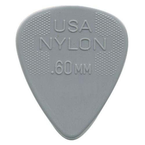 Jim Dunlop Jim Dunlop Plectrum, Nylon Standard, 12-Pack