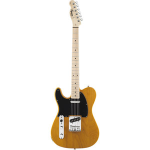 Squier Left Handed Affinity Telecaster, Butterscotch Blonde