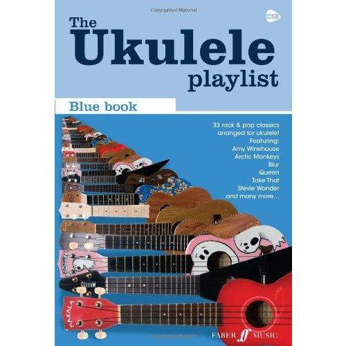 Faber Music The Ukulele Playlist: Blue Book