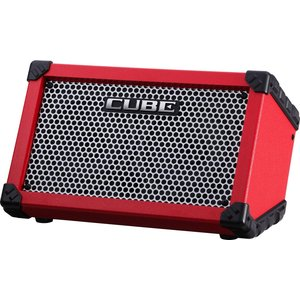 Roland CUBE Street Portable Stereo Amplifier, Red