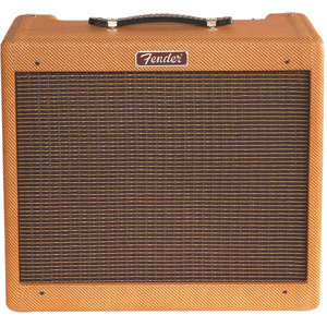 Fender Blues Junior 15W Valve Amp Combo, Lacquered Tweed