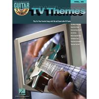 Guitar Play-Along Volume 45: TV Themes