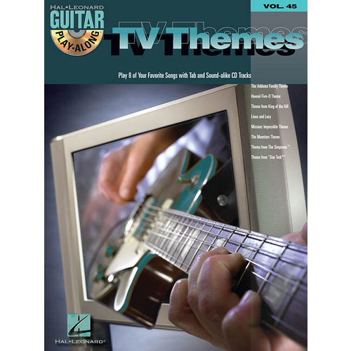 Hal Leonard Guitar Play-Along Volume 45: TV Themes