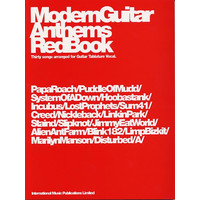 Modern Guitar Anthems: Red Book