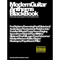 Modern Guitar Anthems: Black Book