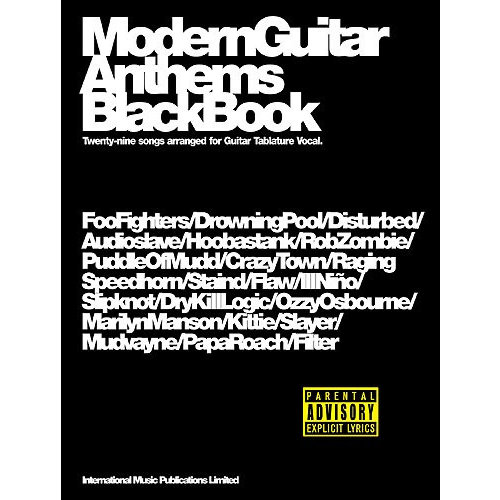 I.M.P. Modern Guitar Anthems: Black Book