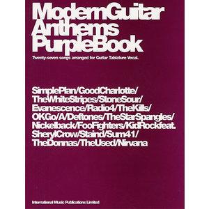 Modern Guitar Anthems Purple Book