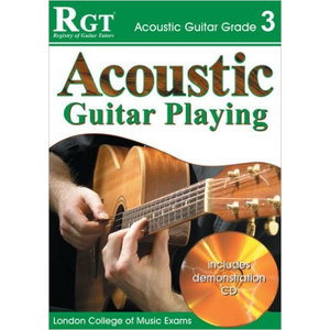 RGT Acoustic Guitar Playing Grade 3