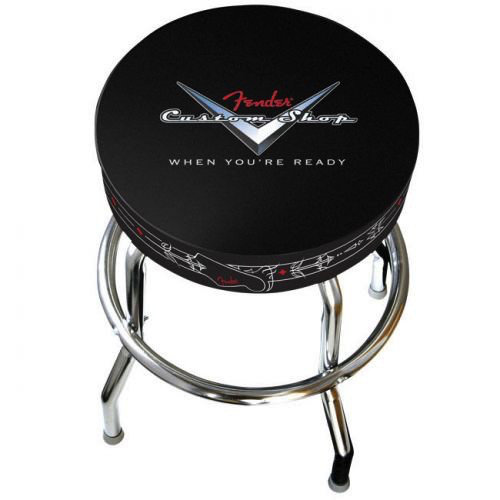 Fender Clothing & Collectibles Fender Custom Shop Bar Stool, 24""