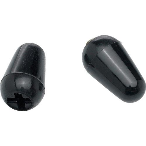 Fender Accessories Fender Switch Tip, to fit most Strat models, Black (2)