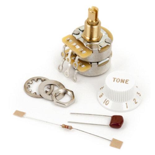 Fender Accessories Fender CTS Control Pot, 250K/1Meg, Split Shaft TBX Tone Control