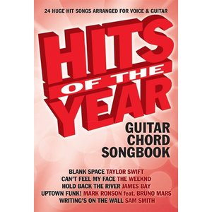 Hits Of The Year Guitar Chord Songbook 2015