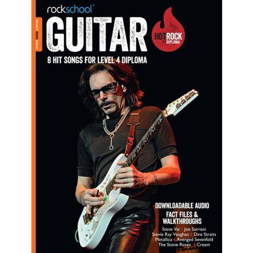 Rockschool Ltd. Rockschool: Hot Rock Guitar – Level 4 Diploma