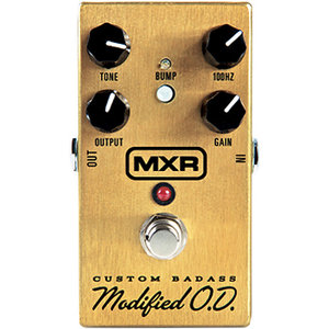 MXR M77 Custom Badass Modified O.D. Overdrive Pedal
