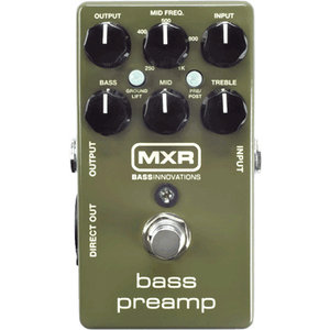MXR M81 Bass Preamp Pedal