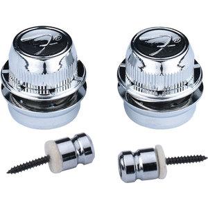 Fender F Strap Locks, Chrome (pair)