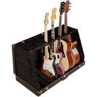 Fender Stage Guitar Case Stand, 7 Guitars, Black
