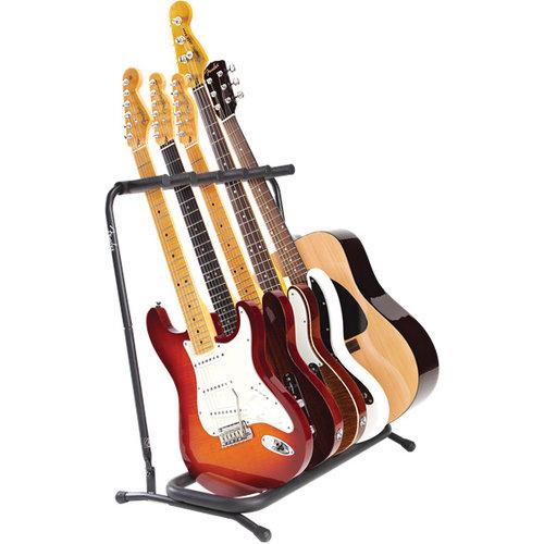 Fender Accessories Fender Multi Guitar Stand, 5-Way