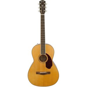 Fender Paramount PM-2 Standard Parlour, All Solid Spruce/Mahogany w/ Hard Case, Natural
