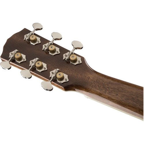 Fender Fender Paramount PM-2 Standard Parlour, All Solid Spruce/Mahogany w/ Hard Case, Natural