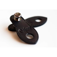 RightOn! Endpin Jack Straplink Acoustic Guitar Strap Button, Black