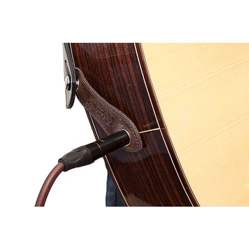 RightOn! RightOn! Endpin Jack Straplink Acoustic Guitar Strap Button, Black