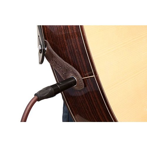 RightOn! RightOn! Endpin Jack Straplink Acoustic Guitar Strap Button, Brown
