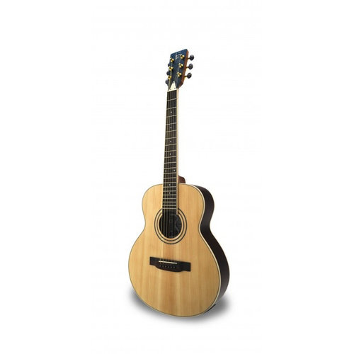 António Pinto de Carvalho APC JB200 PSI Electro-Acoustic Guitar, Mini Jumbo, Solid Spruce Top, Rosewood Back