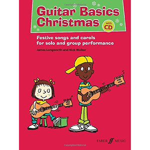 Guitar Basics Chirstmas (Nick Walker / James Longworth) Book/CD