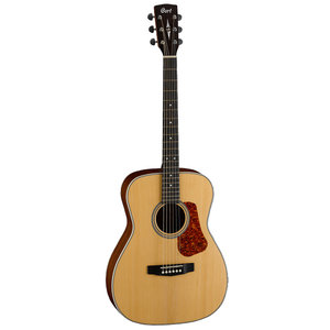 Cort Luce L100 Concert Guitar, Solid Spruce Top, Mahogany Back, Natural Satin