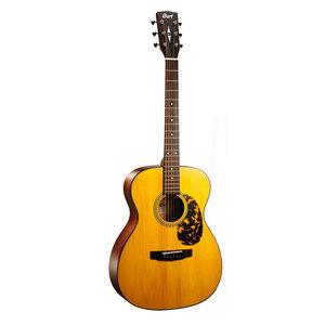 Cort Luce L300 OM Guitar, Solid Adirondack Spruce Top, Mahogany Back, Sonically Enhanced UV Finish
