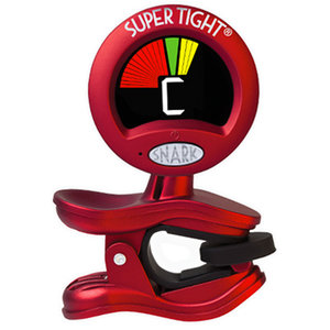 Snark ST2 Clip On Tuner, Super Tight, Red