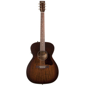 Art & Lutherie Legacy Concert Hall Electro-Acoustic, Solid Spruce Top, Wild Cherry Back, Bourbon Burst w/ Q1T Pickup