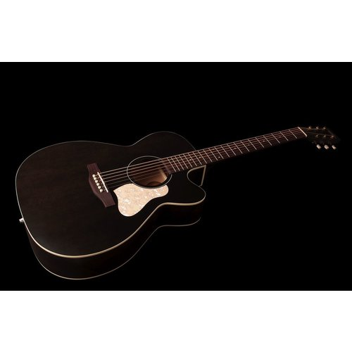 Art & Lutherie Art & Lutherie Legacy Concert Hall Electro-Acoustic, Solid Spruce Top, Wild Cherry Back, Cutaway, Faded Black w/ Q1T Pickup