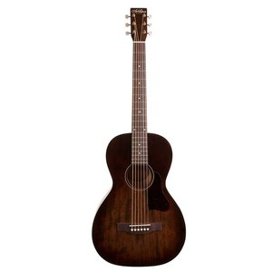 Art & Lutherie Roadhouse Parlour Electro-Acoustic, Solid Spruce Top, Wild Cherry Back, Bourbon Burst w/ Fishman Sonitone