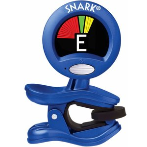 Snark SN-1X Clip On Chromatic Guitar Tuner, Metallic Blue