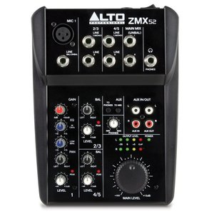 Alto ZMX52 5-Channel Mixer