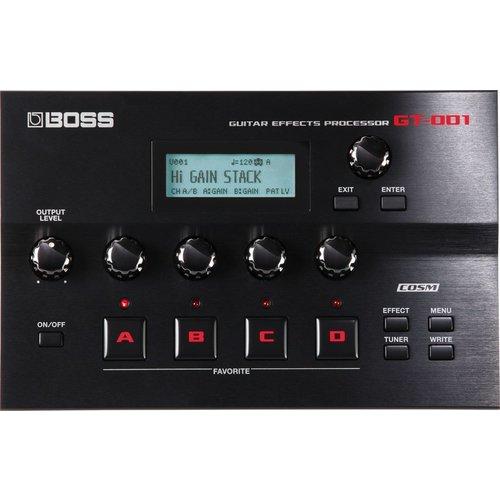 Boss Boss GT-001 Desktop Guitar Multi Effects Processor w/ USB Interface