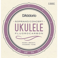 D'Addario Fluorocarbon Ukulele String Set
