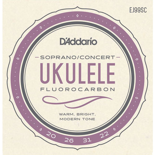 D'Addario D'Addario Fluorocarbon Ukulele String Set
