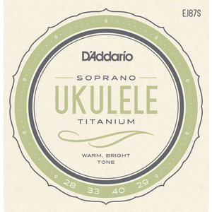 D'Addario Titanium Ukulele String Set