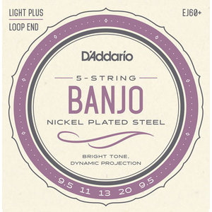 D'Addario 5-String Banjo String Set, Nickel