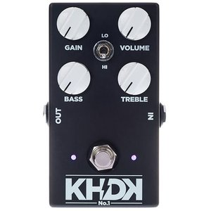 KHDK No. 1 Overdrive Pedal