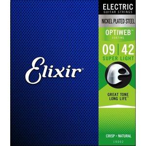 Elixir Optiweb Coated Electric Guitar String Set