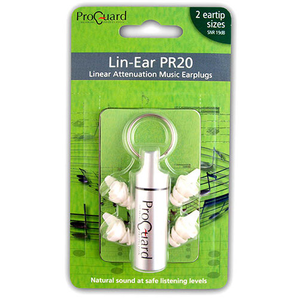 Pro Guard Lin-Ear PR20 Earplugs